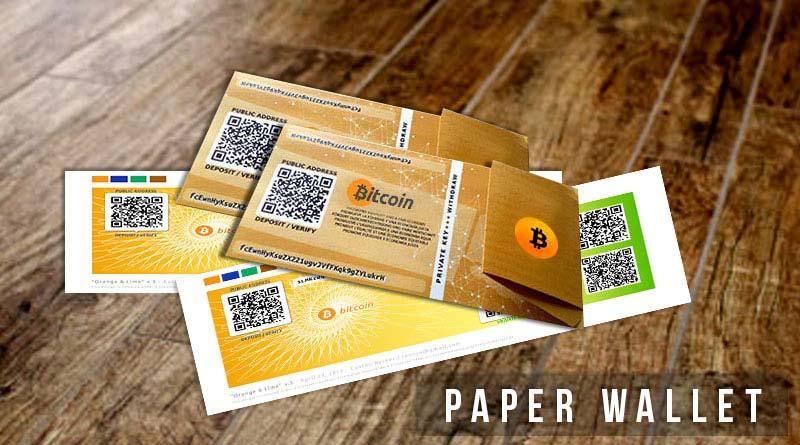 Paper wallets